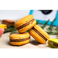 Apricot, Rosemary and Lavender macaron [Quantity: 6 pack]
